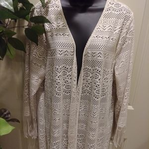 NWOT - Long Accent Wrap - Tunic